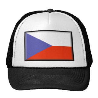 Czech Republic Flag Trucker Hat