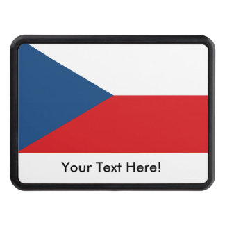 Czech Republic Flag Hitch Cover