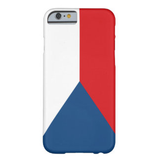 Czech Republic Flag iPhone 6 Case
