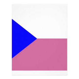 Czech Republic Flag Letterhead