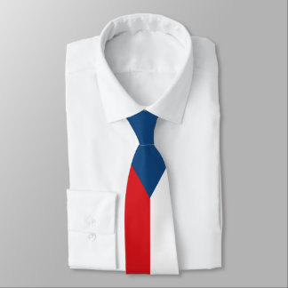Czech Republic Flag Neck Tie