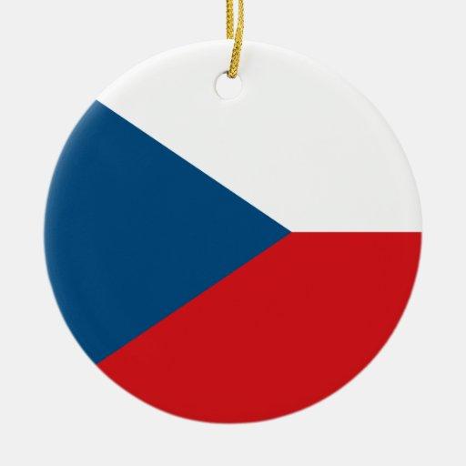 Czech Republic Flag Ornament