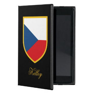 Czech Republic Flag Personalized Case For iPad Mini