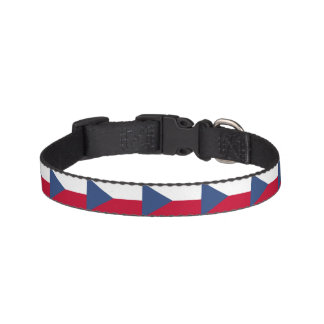 Czech Republic Flag Pet Collar