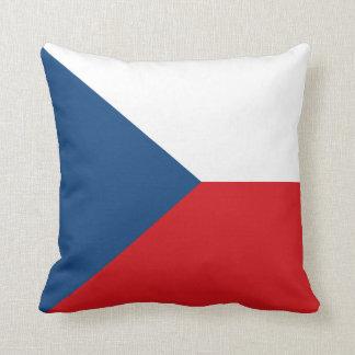 Czech Republic Flag pillow