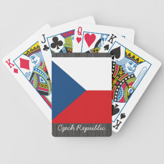 Czech Republic Flag Playing Cards