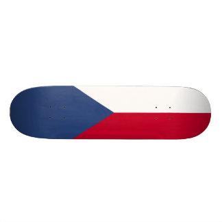 Czech Republic Flag Skateboard