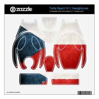 Czech Republic Flag; Turtle Beach X11 Skins