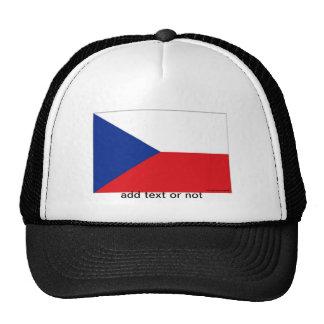 Czech Republic flag souvenir hat