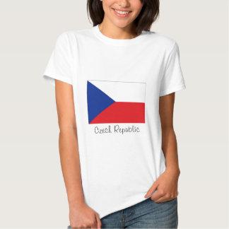 Czech Republic flag souvenir tshirt