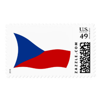 Czech Republic Flag Stamps