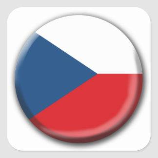 Czech Republic Flag Sticker