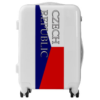 Czech Republic Flag Travel Luggage