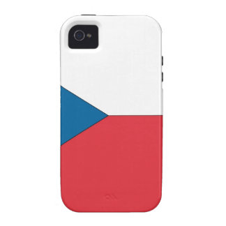 Czech Republic Flag Vibe iPhone 4 Cover