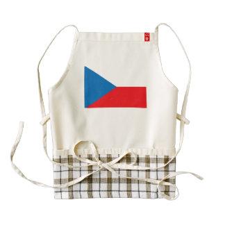 Czech Republic Flag Zazzle HEART Apron