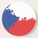 Czech Republic Gnarly Flag Coaster