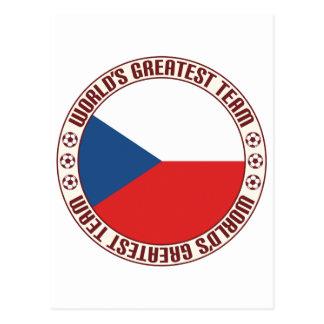 Czech Republic Greatest Team Postcard