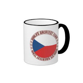 Czech Republic Greatest Team Ringer Coffee Mug