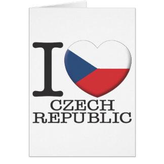 Czech Republic Greeting Card