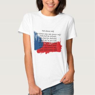 Czech Republic - Kde domov můj Tee Shirt