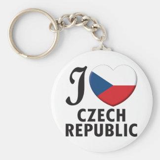 Czech Republic Love Key Chains