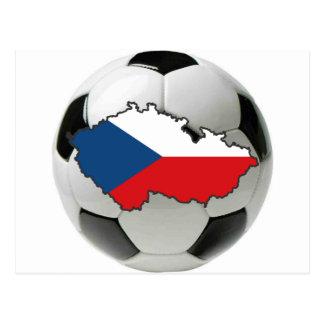 Czech Republic national team Postcard