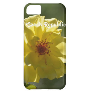 Czech Republic Roses Case For iPhone 5C