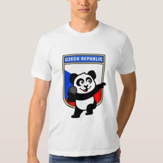 Czech Republic Shot Put Panda T-Shirt