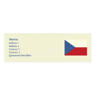 Czech Republic - Skinny Business Cards
