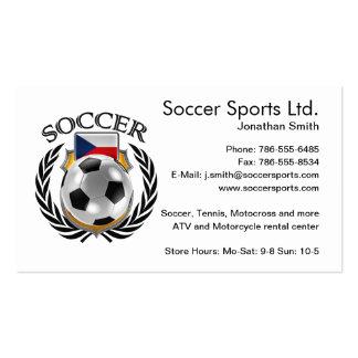 Czech Republic Soccer 2016 Fan Gear Business Card