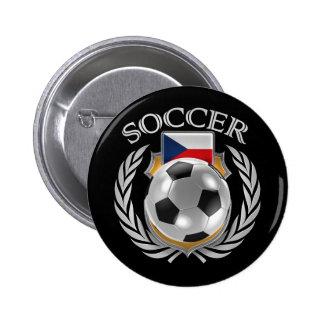 Czech Republic Soccer 2016 Fan Gear Button