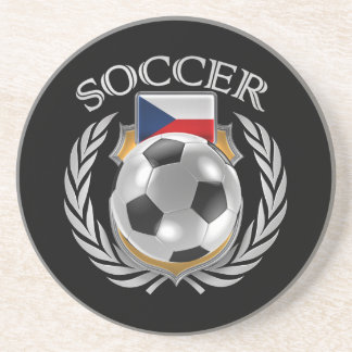 Czech Republic Soccer 2016 Fan Gear Coaster