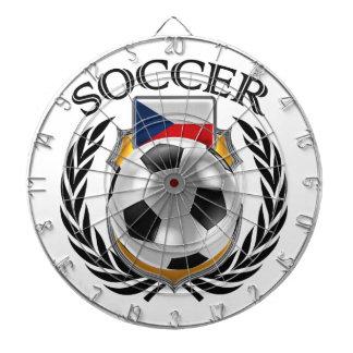 Czech Republic Soccer 2016 Fan Gear Dartboard