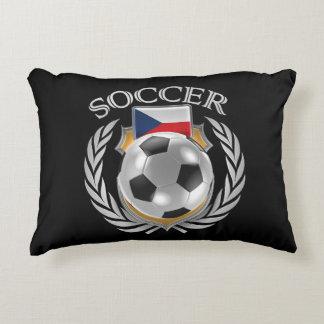 Czech Republic Soccer 2016 Fan Gear Decorative Pillow