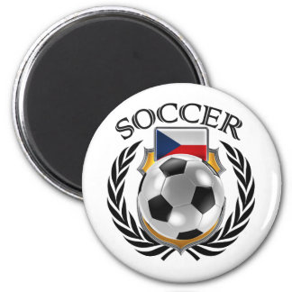Czech Republic Soccer 2016 Fan Gear Magnet