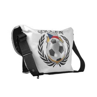 Czech Republic Soccer 2016 Fan Gear Messenger Bag