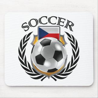 Czech Republic Soccer 2016 Fan Gear Mouse Pad