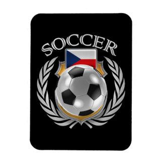 Czech Republic Soccer 2016 Fan Gear Rectangular Photo Magnet