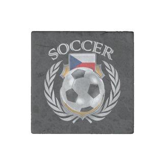 Czech Republic Soccer 2016 Fan Gear Stone Magnet