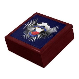 Czech Republic Soccer Champions Jewelry Box
