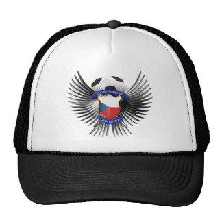 Czech Republic Soccer Champions Hats