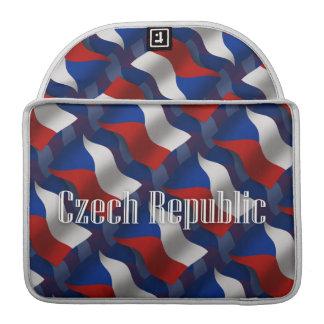 Czech Republic Waving Flag Sleeves For MacBooks