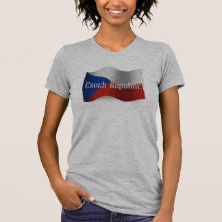 Czech Republic Waving Flag Shirt