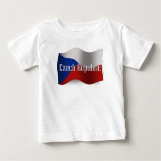 Czech Republic Waving Flag Tees