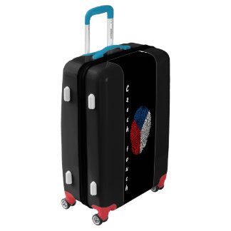 Czech touch fingerprint flag luggage