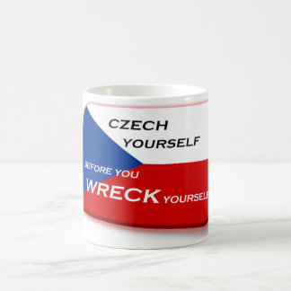 CZECH Yourself Coffee Mug