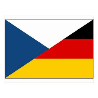 czechgermany postcard
