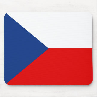Czechia Flag Mousepad