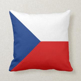 Czechia Flag x Flag Pillow