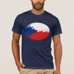 Czechia Gnarly Flag T-Shirt